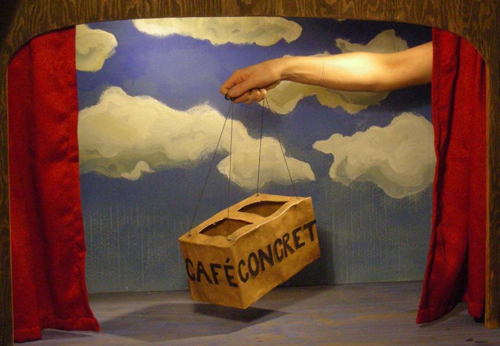 cafe concret
