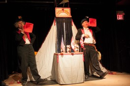 Puppetmongers Theatre (Brick bros. Circus)